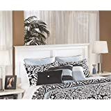 Ashley Signature Design by Bostwick Shoals White Queen/Full Panel Headboard