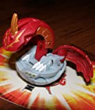 BAKUGAN BAKUSWAP NEW LOOSE DUAL ATTRIBUTE APOLLONIR PYRUS RED OVER HAOS GREY 500G