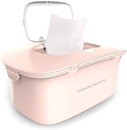 Calentador de toallitas, dispensador de toallitas húmedas para bebés, diseño portátil Separable, Calentamiento a Temperatura Constante Superior, Estuche para toallitas húmedas: Amazon.es: Hogar