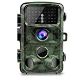 Trail Camera - TOGUARD Trail Camera 14MP 1080P Night Vision Game Camera Motion Activated Wildlife Hunting Cam 120° Detection with 0.3s Trigger Speed 2.4