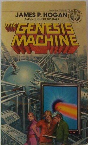 The Genesis Machine By James P. Hogan Science Fiction Nice Book