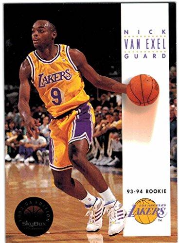 07ead4f4aeb Amazon.com: 1993-94 SkyBox Premium Los Angeles Lakers Team Set with James  Worthy & Nick Van Exel RC - 11 Cards: Collectibles & Fine Art