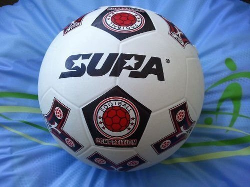 50 CT - Size 4, 32 Panel Rubber Soccer Balls. Official Size & Weight. by Supa (Image #1)
