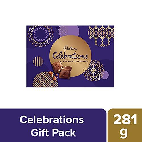 Cadbury Celebrations Premium Assorted Chocolate Gift Pack, 281 g 2