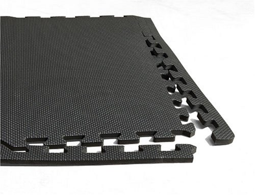 Larin AFWM-6 Interlocking Anti-Fatigue Work Mat, (Pack of 6)