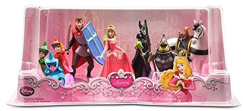 Disney Sleeping Beauty Aurora Exclusive Figure Set -