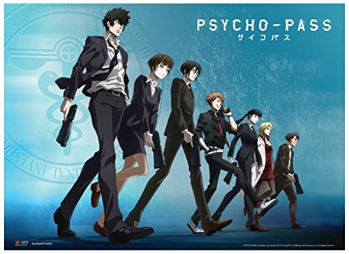 Psycho Pass Group Line Scroll inches