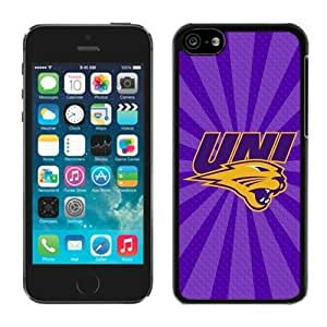 Apple iPhone 5C Cover Case NCAA-MISSOURY VALLEY UNI Panthers 9 Plastic iPhone 5c 5th Generation Case
