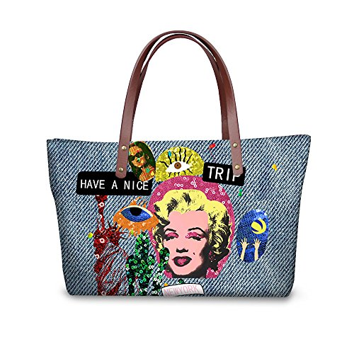 Dfgcc1936al Handbags Top Handle Satchel Print Women Tote Bages FancyPrint Fruit 4WBRq84z