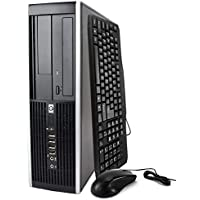 HP Elite 6300 SFF Desktop PC - Pentium G 3.2GHz Processor 4GB 500GB DVDRW w/ WIFI Adapter Windows 10 Professional (Certified Refurbished) (8GB 10P HDMI)