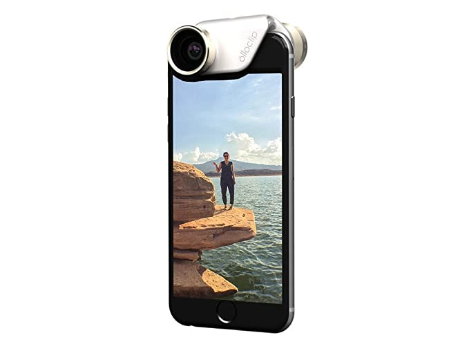 new style 76fe1 830f4 olloclip 4-in-1 Lens System - iPhone 6/6 Plus Gold Lens, One Size