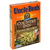 Uncle Ben's Country Inn Rice Dishes, Chicken and Wild Rice, 6-Ounce Boxes (Pack of 12)