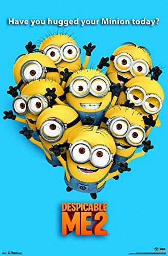 Trends International Despicable Me 2 Minions Wall Poster