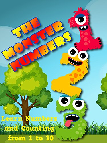 The Monster Numbers - Learn Numbers and Counting from 1 to -