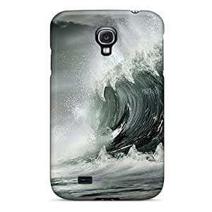 Elaney Galaxy S4 Well-designed Hard Case Cover Monster Wave Protector
