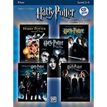 Harry Potter Instrumental Solos (Movies 1-5): Flute, Book and CD