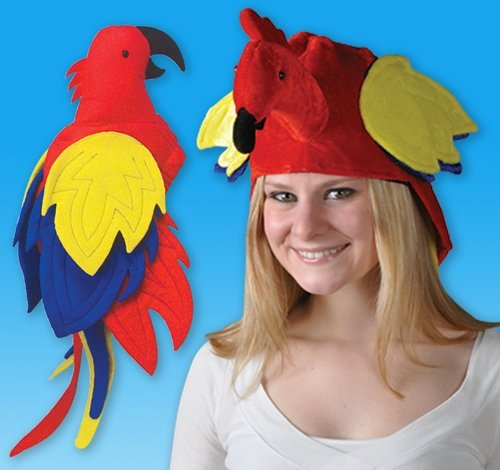 "23"" PARROT HAT, Case of 72 by DollarItemDirect"