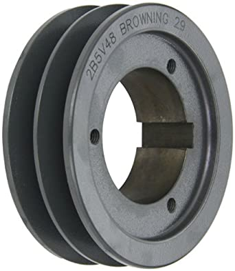 Browning 2b5v48 Split Taper Sheave Cast Iron 2 Groove A