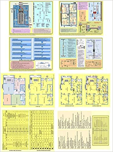 Electrical Wiring Diagrams & Electrical Wiring Illustrations Mini Poster-  Sample Building Electrial Plan Layouts & Calculations: IVORIE:  0719279145274: Amazon.com: BooksAmazon.com
