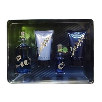 Liz Claiborne Curve Women Giftset 3.4 Ounce Eau De Toilette Spray, 0.5 Ounce Eau De Toilette Spray, Body Lotion, Bath and Shower Gel