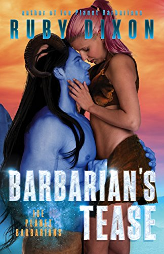 Horn Ice (Barbarian's Tease: A SciFi Alien Romance (Ice Planet Barbarians Book 16))