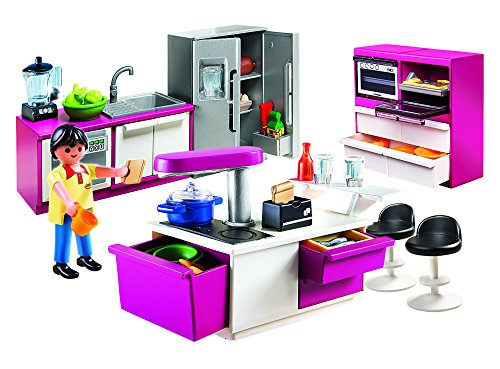 Buy Playmobil Modern Designer Kitchen Set Online At Low Prices In