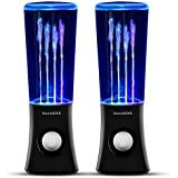 Soundsoul Bluetooth 2.1 Music Fountain Mini Amplifier Dancing Water Speakers I-station7 Apple Speakers (Black Without Battery, Bluetooth Speaker)