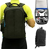 GARTT Backpack Shoulder Carry Case Bag For DJI Phantom 3 Pro Advanced / Phantom 4,Standard RC Quadcopter Drones Multirotor-Black