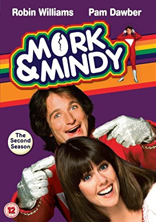 Mork and Mindy Robin Williams Awsome New POSTER