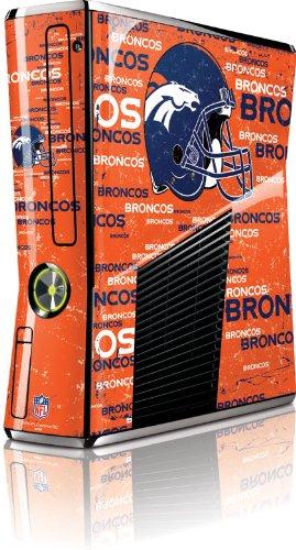 Skinit Denver Broncos Microsoft Xbox 360 Slim (2010) Blast