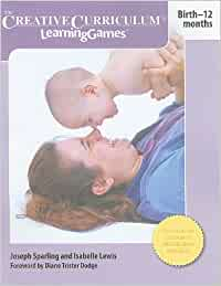 Creative Curriculum Learning Games Birth 12 Months