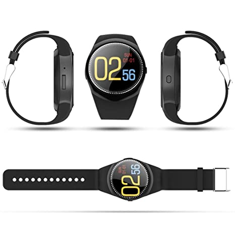 Amazon.com: Miseku Waterproof Smart Watch Heart Rate Monitor ...