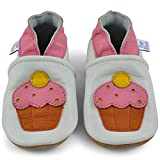 Soft Sole Baby Girl Shoes - Baby Moccasins with