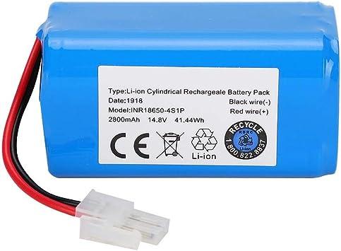 Aspirador de batería Reemplazo de batería de Iones de Litio 14.8V ...