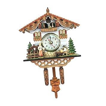 Sharplace Vintage Reloj de Péndulo de Cuco