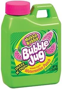 Amazon.com : Hubba Bubba Bubble Jug, Watermelon Punch, 2.2 ...