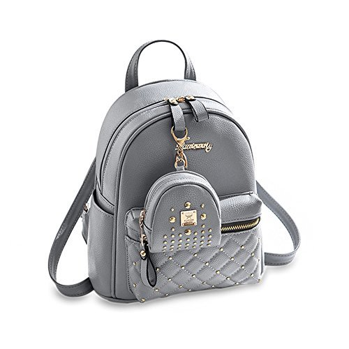 Cute Small Backpack Mini Purse Casual Daypacks Leather
