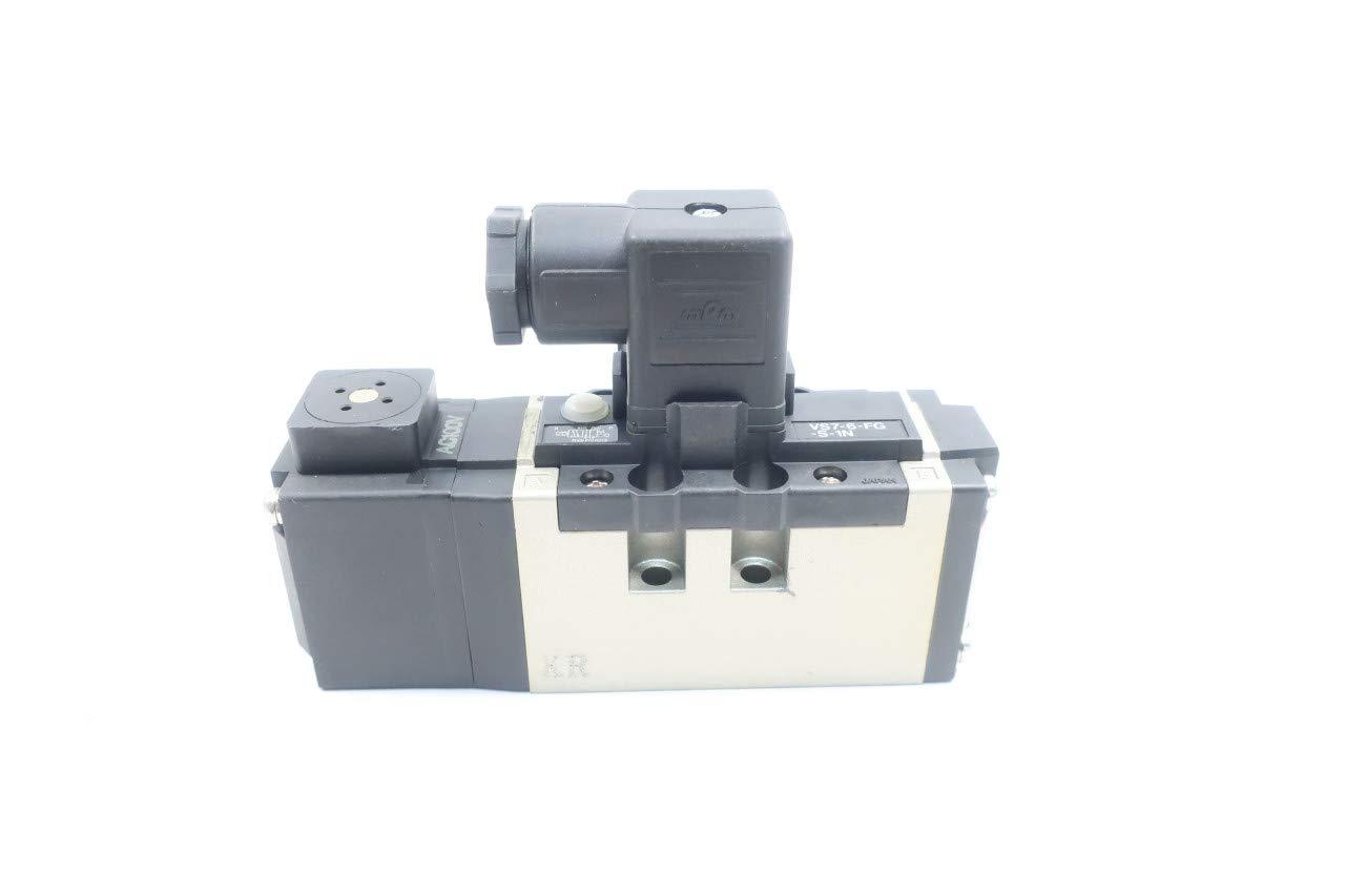 SMC VS7-6-FG-S-1N Solenoid Valve 100V-AC