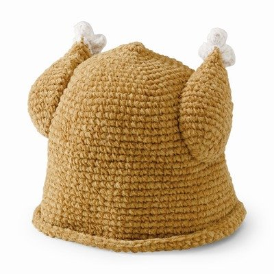 San Diego Hat Company Tan Turkey Baby Beanie (1-2 Years) by San Diego Hat Company