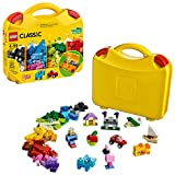 Create, play and pack neatly away with this smart and convenient LEGO Classic 10713 Creative Suitcase, featuring a selection of brightly colored LEGO building bricks, including bricks, eyes, wheels and shapes, for building all kinds of houses, vehicl...
