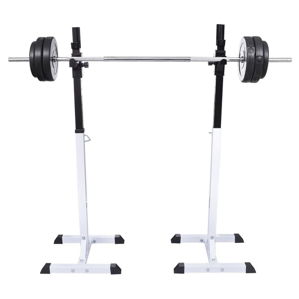 Chloe Rossetti Barbell Rack Squat Barbell Rack Set Barbell Suitable for Beginners Through To Advanced Atheletes