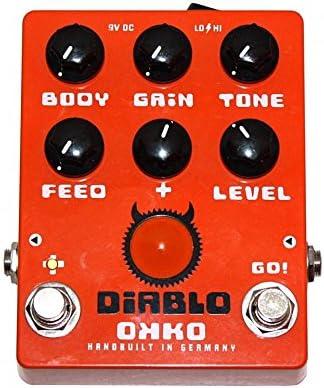 Okko Diablo – Pedal de Gain ocasión: Amazon.es: Instrumentos ...