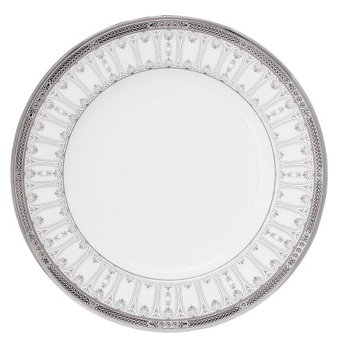 Noritake Chatelaine Platinum Accent Plate, 9-inches