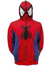 Spider-Man Cosplay Full Zip Hoodie