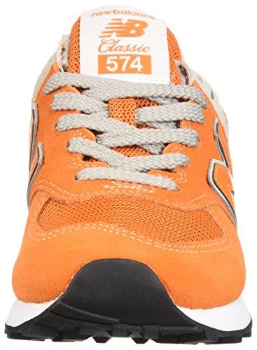 574S Sport New White Varsity Orange Sneaker Balance Men's xawPE