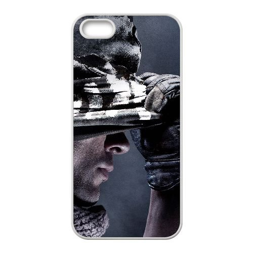 Call Of Duty Ghosts Tapety R3N19G3WM coque iPhone 5 5s case coque white IYO546