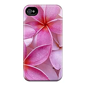 Brand New 4/4s Defender Case For Iphone (pink Flowers)