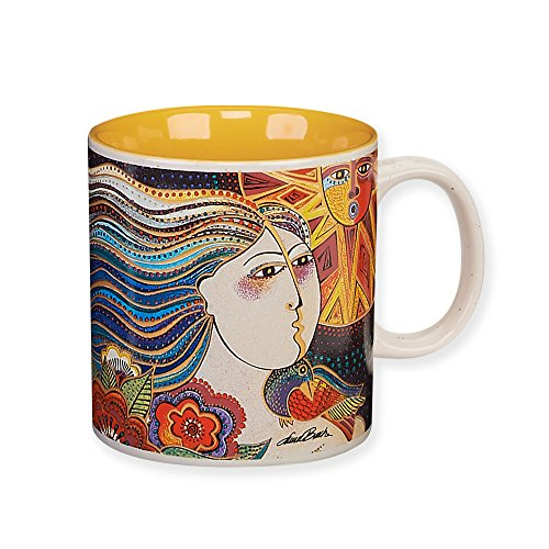 Laurel Burch Artistic Collection 14-ounce Mug, Mikayla