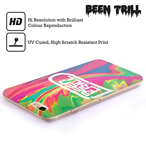 Official Been Trill Pink Tie Dye Soft Gel Case for Apple iPhone 6 Plus / 6s Plus