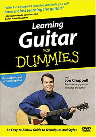amazon com learning guitar for dummies movies \u0026 tv